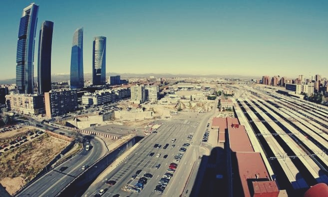 Chamartin Train Station Development Plan